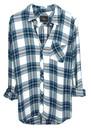 Rails Hunter Shirt - White & Jade