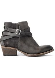Hudson London Horrigan Ankle Boots - Smoke