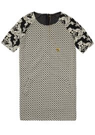 Maison Scotch Jacquard Sweat Dress - Combo B