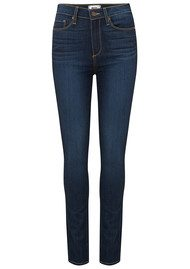 Paige Denim Margot High Rise Ultra Skinny Jeans - Alanis