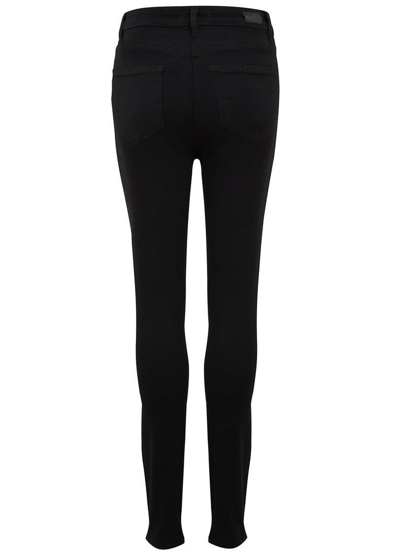 Margot High Rise Ultra Skinny Jeans - Black Shadow main image