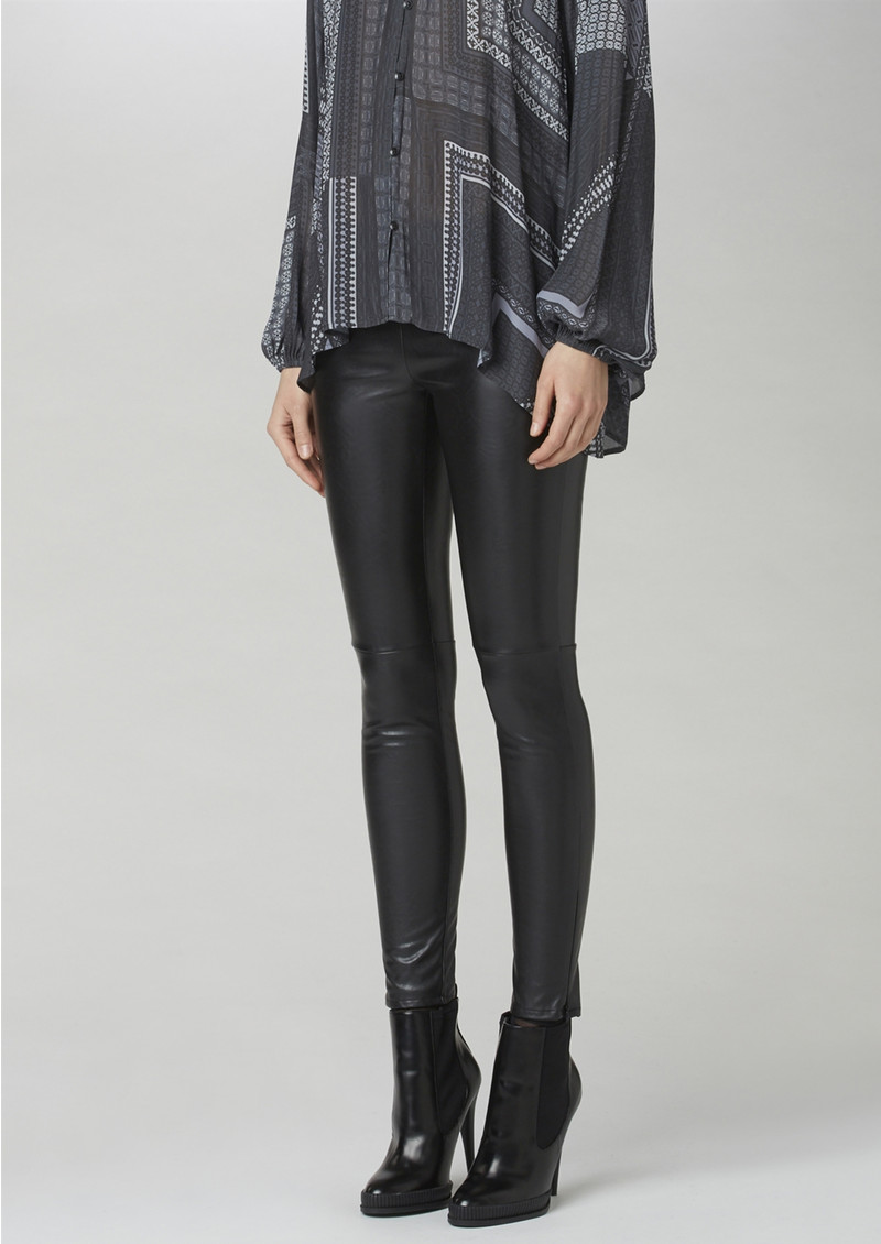 Twist and Tango Arleen Faux Leather Trousers - Black main image