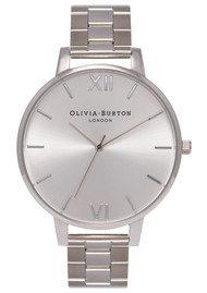 Olivia Burton Big Dial Bracelet Watch - Silver