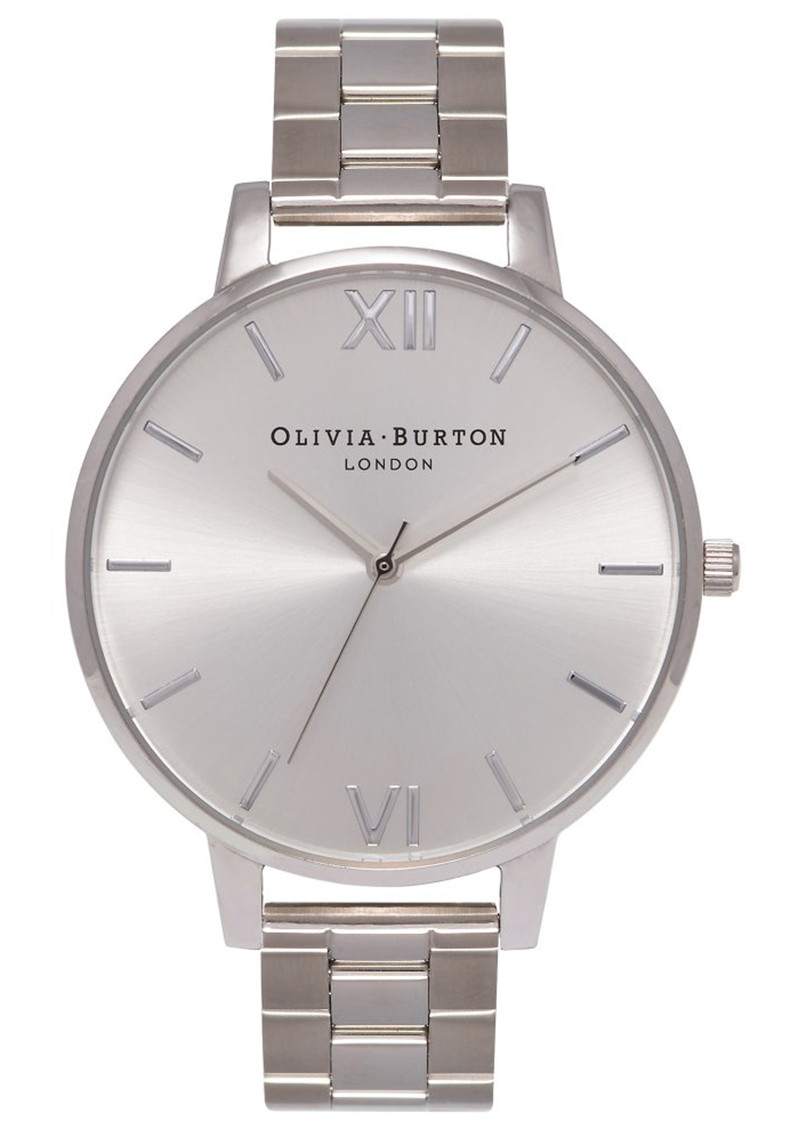 Olivia Burton Big Dial Bracelet Watch - Silver main image