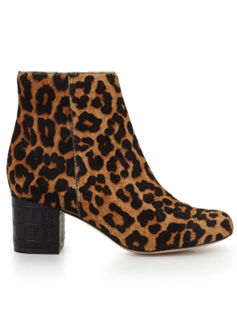 Edith Print Boots - Leopard main image