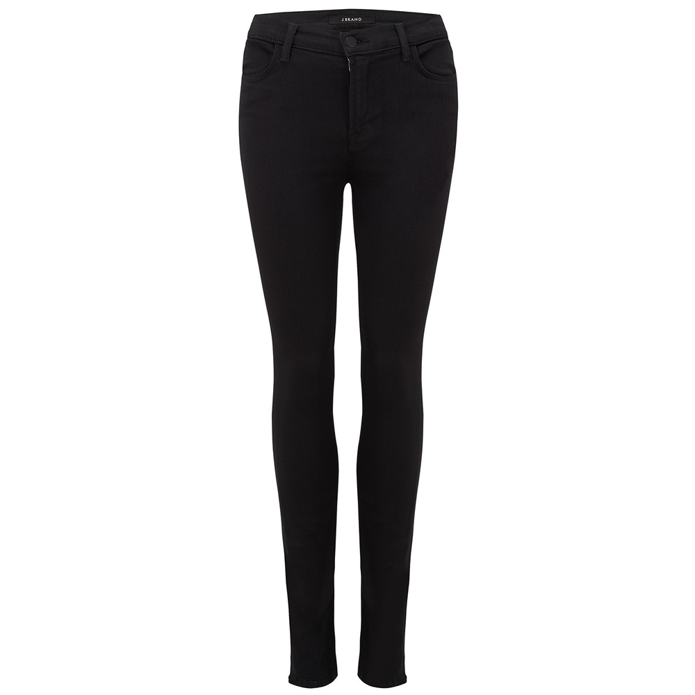 Maria High Rise Skinny Jeans - Seriously Black
