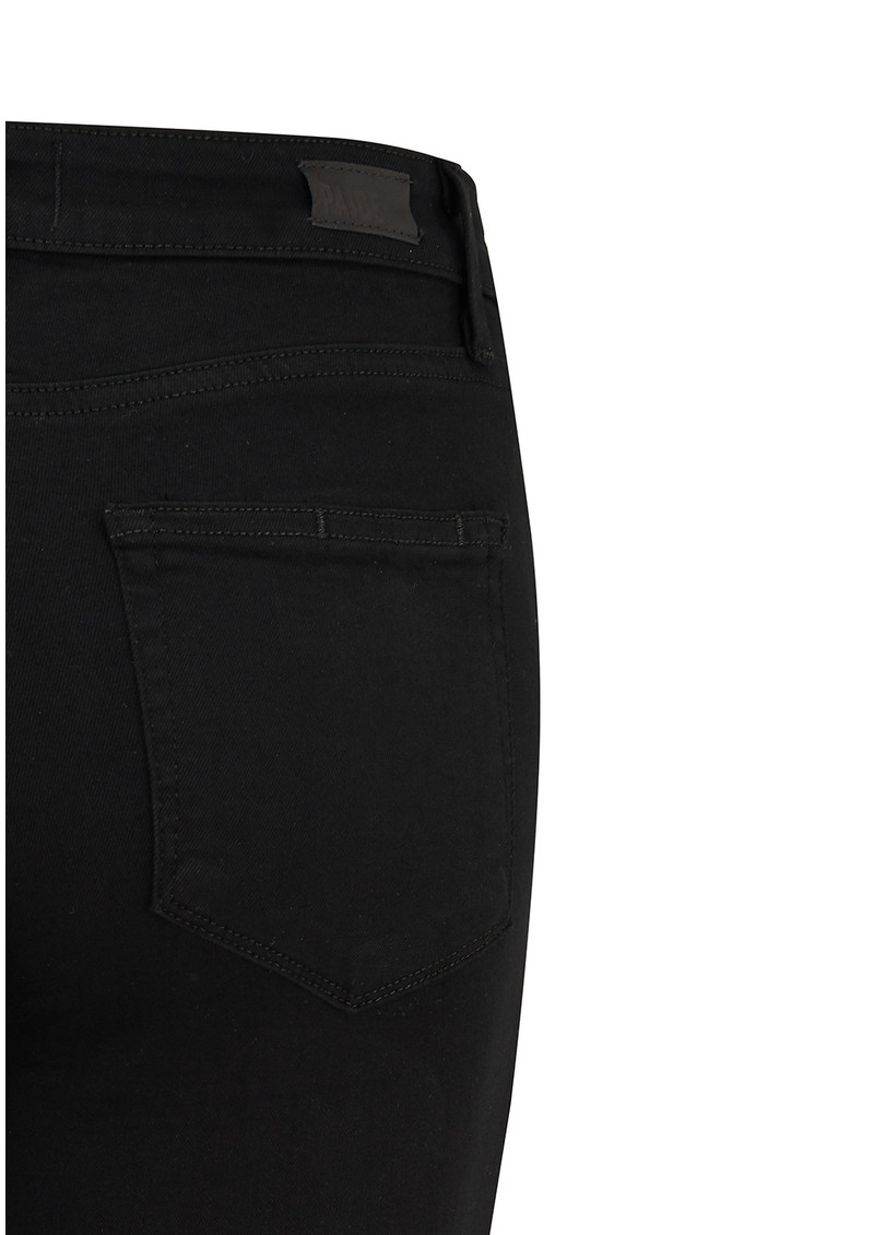 Paige Denim Hoxton Transcend Skinny Jeans - Black Shadow main image