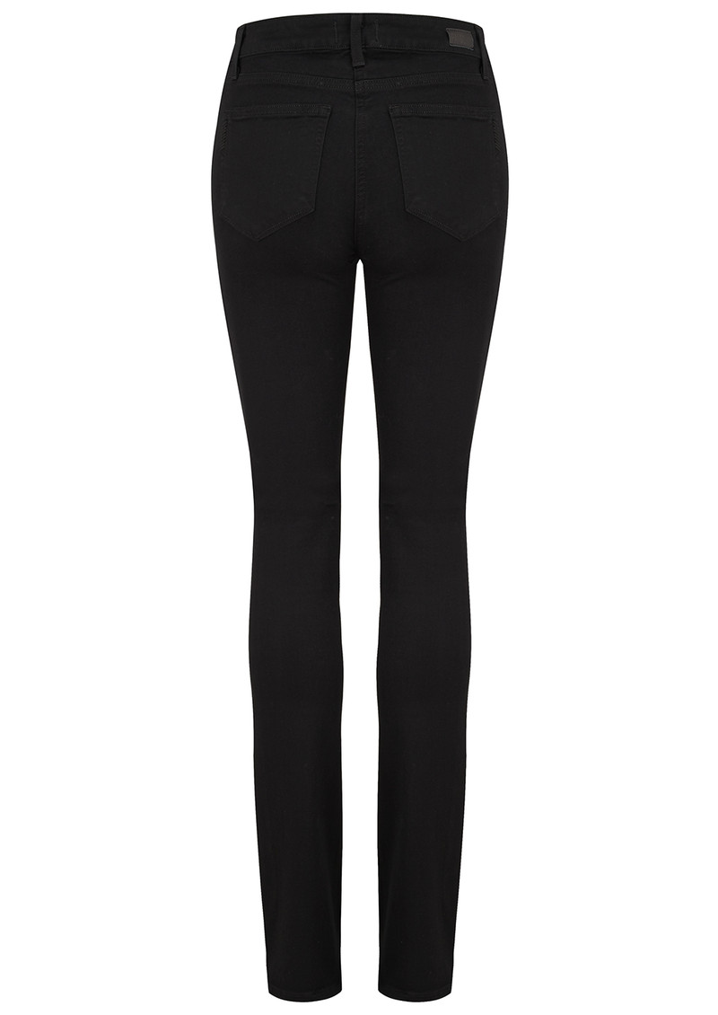 Paige Denim Hoxton Straight Leg Jeans - Black Shadow main image