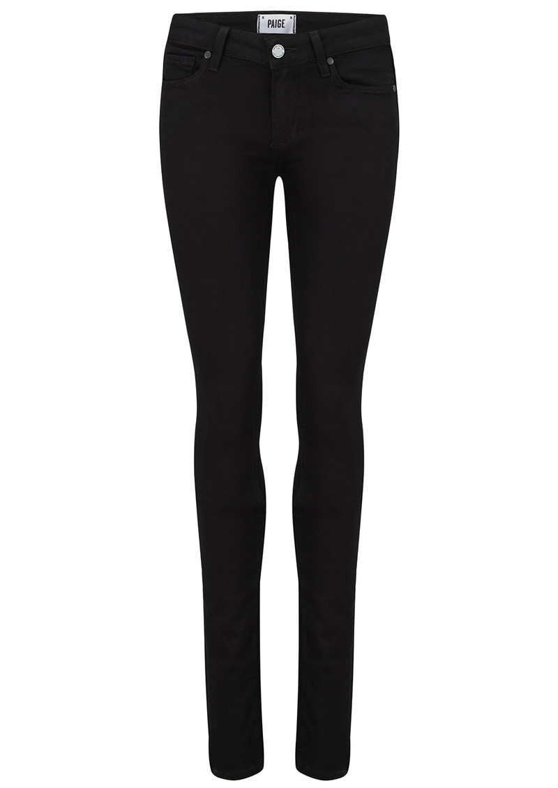 Paige Denim Leggy Ultra Skinny Jeans - Black Shadow main image