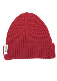 BOBBL Bobbl Knitted Hat - Red