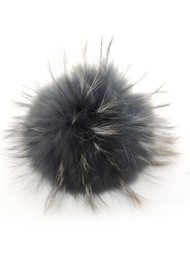 BOBBL Big Fur Bobbl - Stormy Weather