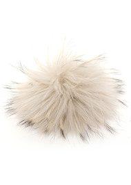 BOBBL Big Fur Bobbl - Pale Grey