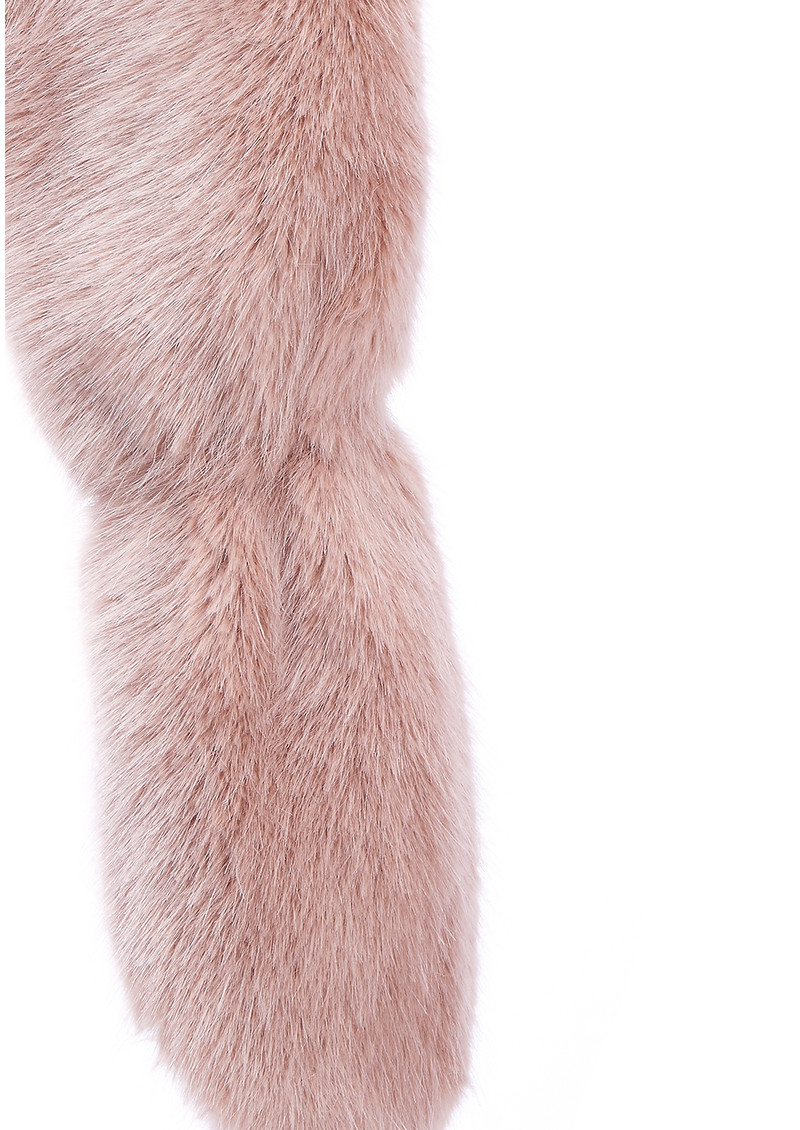NOOKI Foxy Faux Fur Stole - Pink main image