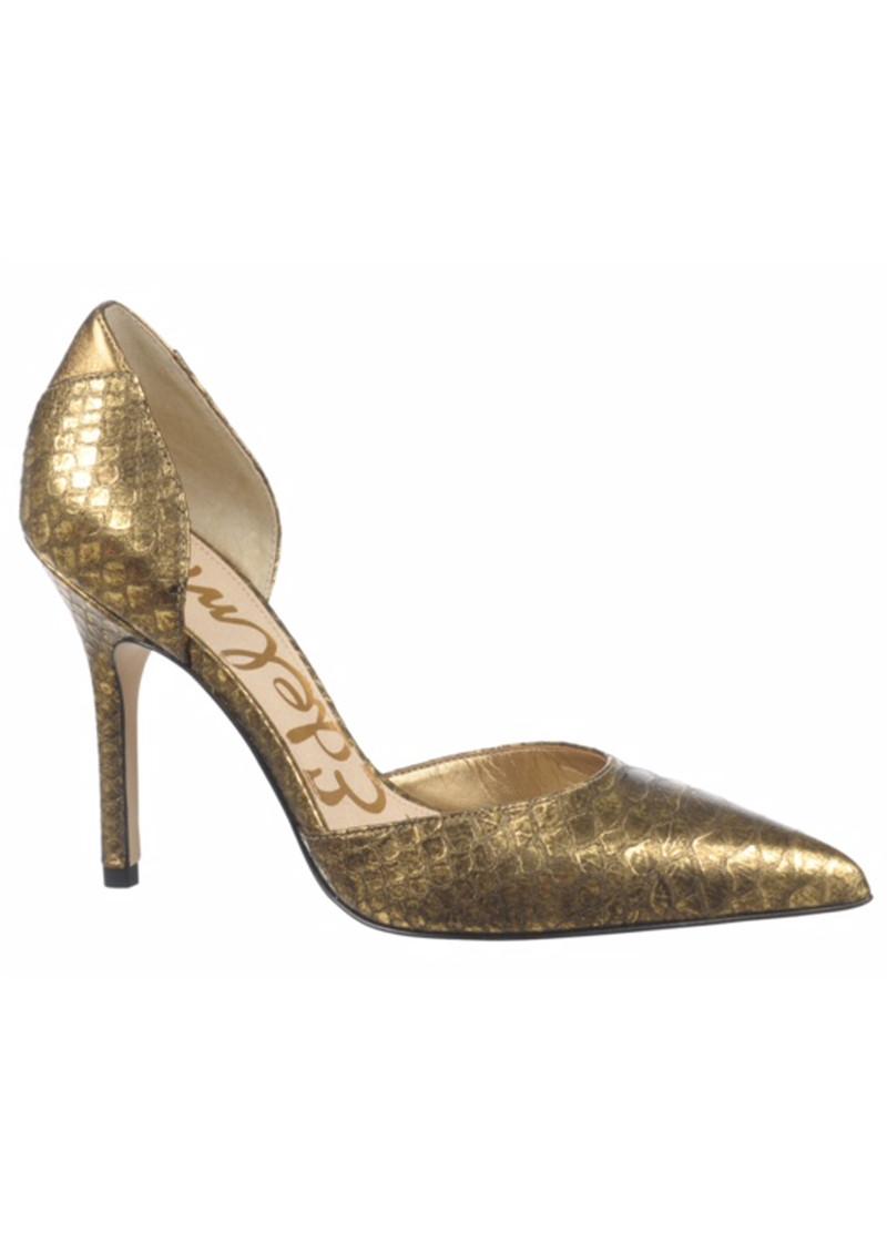 Sam Edelman Delilah Disco Snake Heel - Gold main image