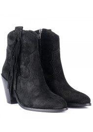 Ash Isha Ankle Boots - Black