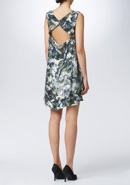 Twist and Tango Grace Printed Dress - Green Cloud