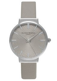 Olivia Burton The Hackney Grey Dial Watch - Grey & Silver