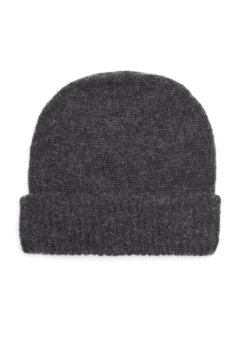 American Vintage Vacaville Beanie Hat - Charcoal main image ... d8a46037434