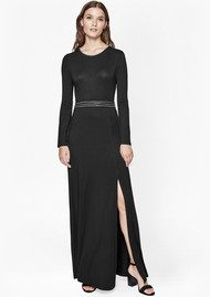 Great Plains Chain Reaction Maxi Dress - Black