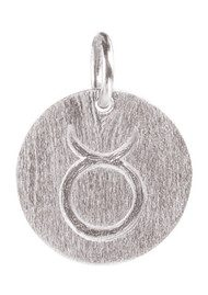 PERNILLE CORYDON Zodiac Sign Silver Charm - Taurus