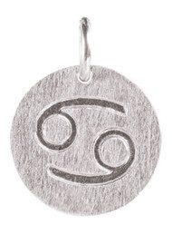 PERNILLE CORYDON  Zodiac Sign Silver Charm - Cancer