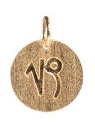 PERNILLE CORYDON   Zodiac Sign Gold Charm - Capricorn