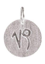 PERNILLE CORYDON Zodiac Sign Silver Charm - Capricorn