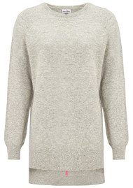 Mercy Delta Ditton Cashmere Mix Jumper - Marl Grey