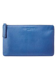 Liebeskind Jenny Leather Pouch Bag - Cobalt