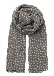 Becksondergaard Fine Summer Star Cotton Scarf - Mouse