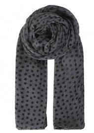 Becksondergaard Fine Summer Star Cotton Scarf - Grey
