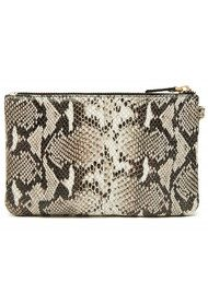 MIGHTY PURSE Mighty Purse Wristlet Clutch - Snake