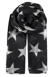 Becksondergaard Fine Twilight Cotton Scarf - Black