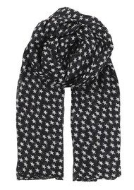 Becksondergaard Fine Summer Star Cotton Scarf - Black