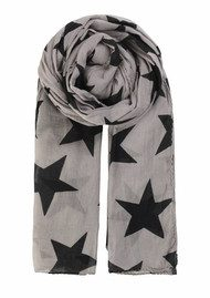 Becksondergaard Fine Twiilight Cotton Scarf - Greyish Dream
