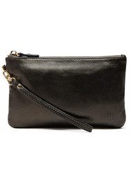 MIGHTY PURSE Mighty Purse Wristlet Clutch - Black Shimmer